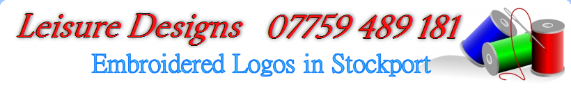 Embroidered Logos, Vinyl Printing, Signs and Decal in Stockport