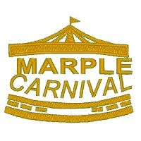 Embroidered Marple Carnival Logo