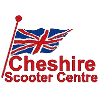 Embroidered Cheshire Scooter Centre Logo