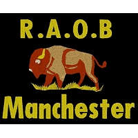 Embroidered RAOB Manchester Logo